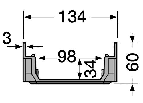 ابعاد کانال cab773